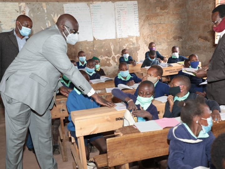 Education CS Magoha Warns Administrators Against Misusing School Funds. Says No Child Should Be Sent Home Because OfDevelopment Money