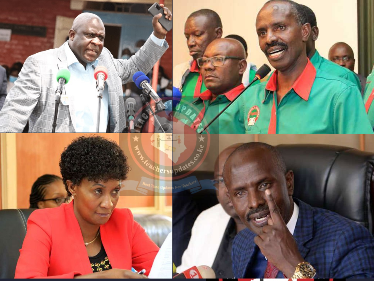 Sossion Accuses KUPPET And TSC Of Collaborating To Kill KNUT.