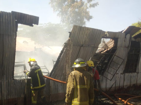 Police Commence probe Into A Suspected Arson Attempt At Kisumu Boys High School