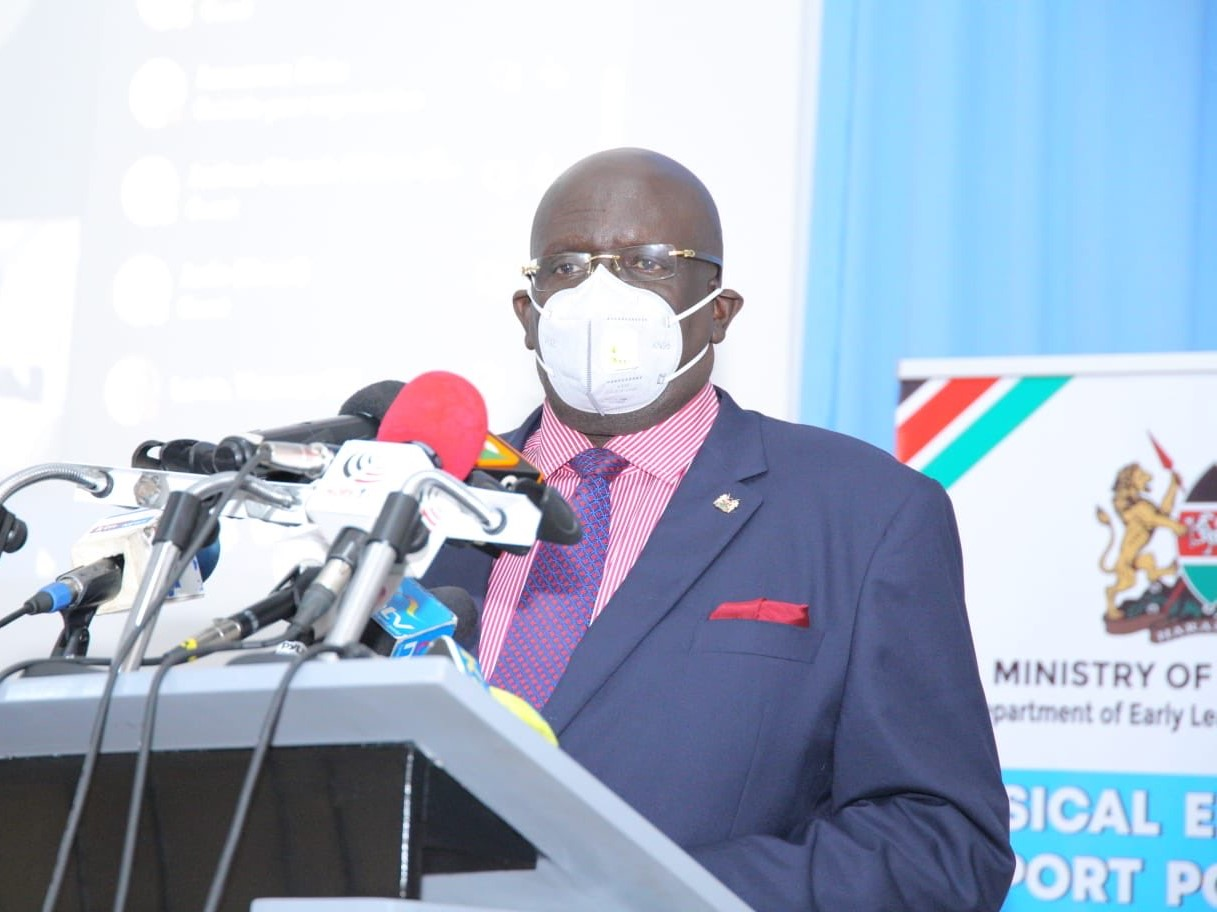 Magoha Announces reporting date for Form 1 students. How To Check Which School You Have Been Admitted To