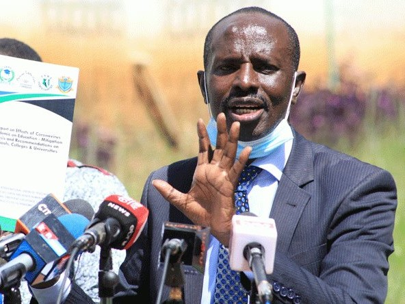 Am Neither Quitting KNUT Nor Parliament. Sossion Gives A Plan Of Saving Union