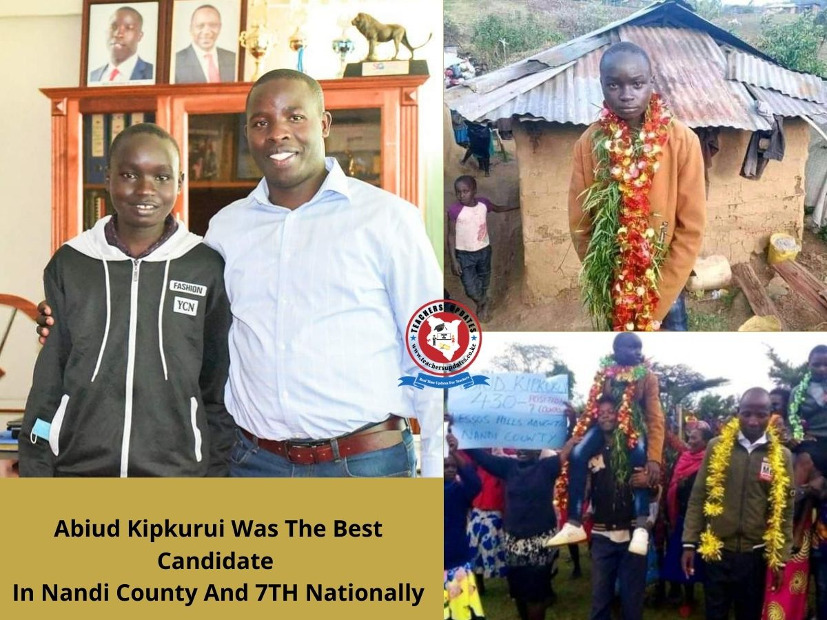 7th Best 2020 KCPE Candidate Whose Father Borrowed Coat for TV Interview, Gets Support From A Governor