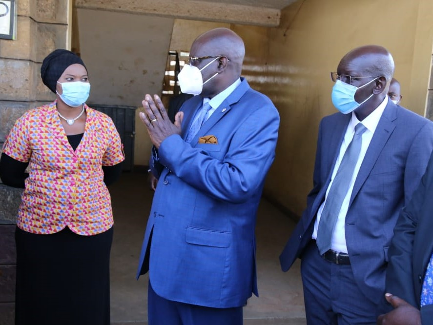 Magoha warns of the danger of learners taking sanitisers to schools