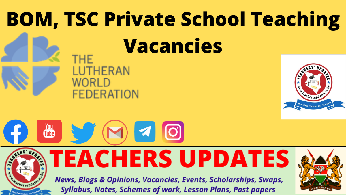 Education Officers, Pre-Primary School Teachers, Primary School Teacher, SNE Teaching Jobs
