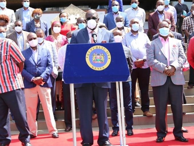 No Child Will Be Allowed In School On Monday Without Face Masks. Magoha Says