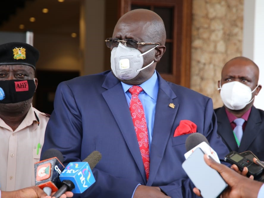 CS Magoha expresses regret over slur on education official. Says no one is perfect.