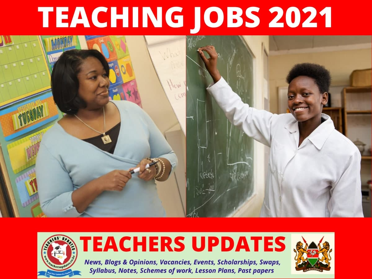 Primary and Secondary School Teaching Vacancies