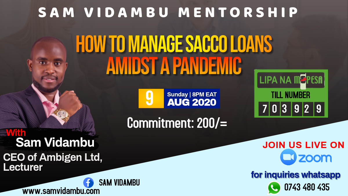 How To Manage SACCO Loan During The Pandemic