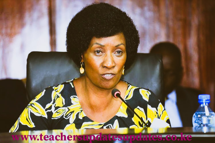 Nancy Macharia Reappointed To Head TSC For The Second Term.
