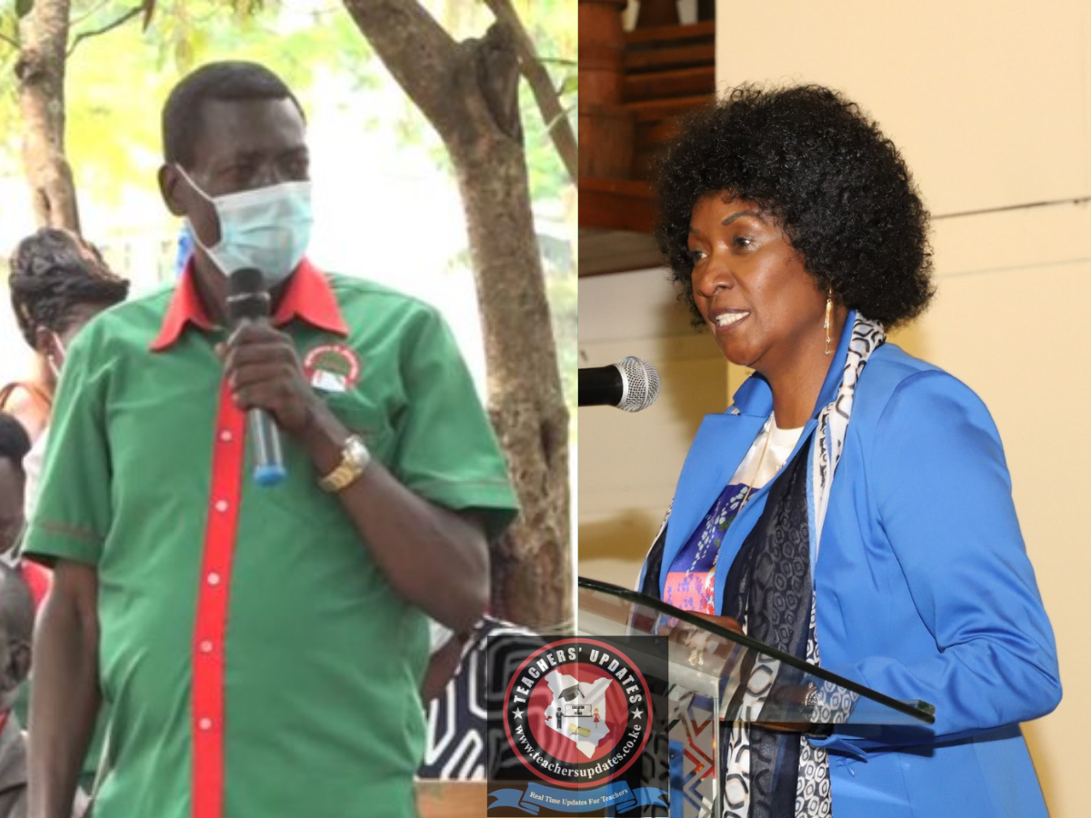 KNUT DEMANDS ANOTHER MEETING WITH TSC ON PAY RISE