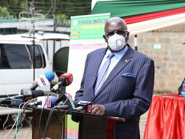 Magoha rules out the closure of schools in the lake region following increased Covid-19 cases.